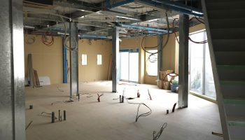 吹田市北千里 山田駅 こうつ歯科クリニックの建設現場を見てきましたのアイキャッチ画像